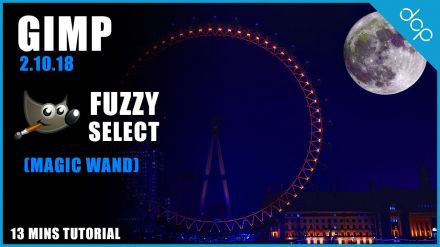 Fuzzy Select Tool Gimp 2.10 | GIMP Magic Wand Tool Tutorial