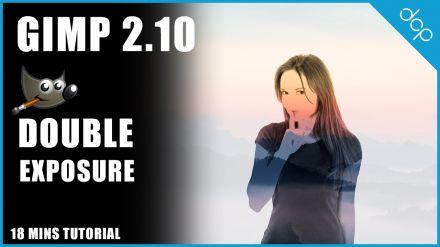 GIMP Double Exposure Video Tutorial