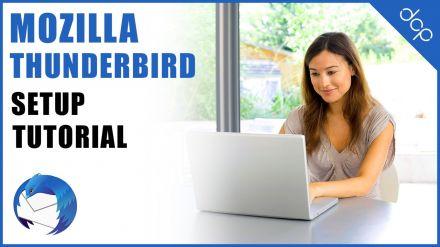 How to setup and configure Mozilla Thunderbird - POP3 Email Accounts using SSL Encryption