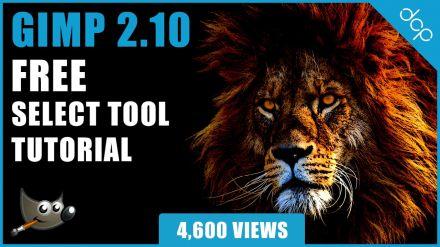 GIMP Tutorial - [ Free Select Tool Tutorial ]