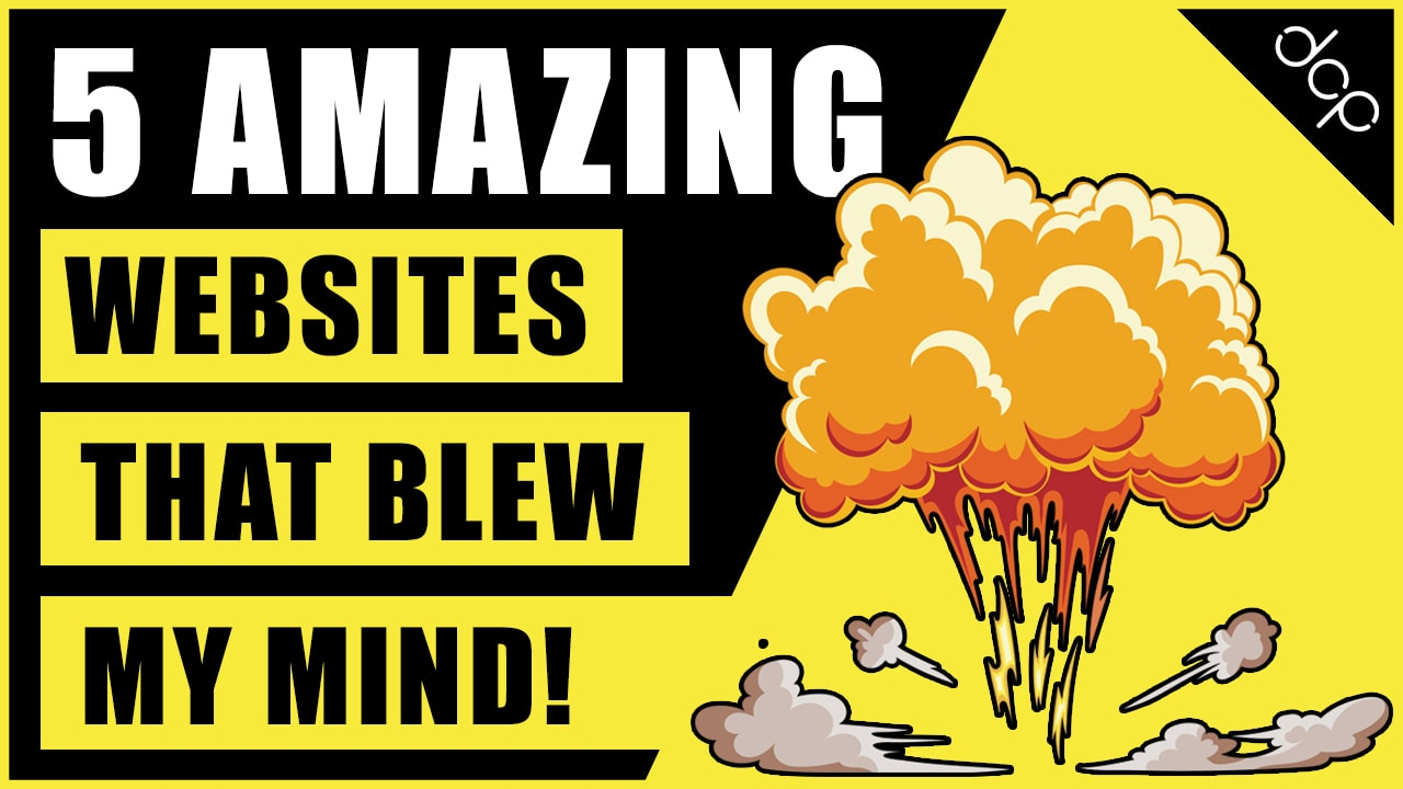 5 Amazing Websites that blew my mind - May 2021