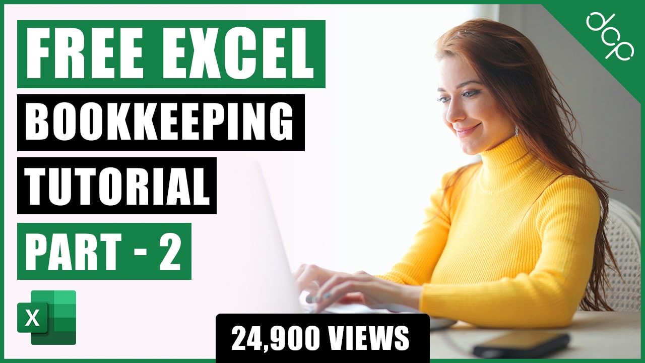 Bookkeeping for Small Business - Excel Tutorial - Part 2 - Invoice Template - Bookkeeping Training