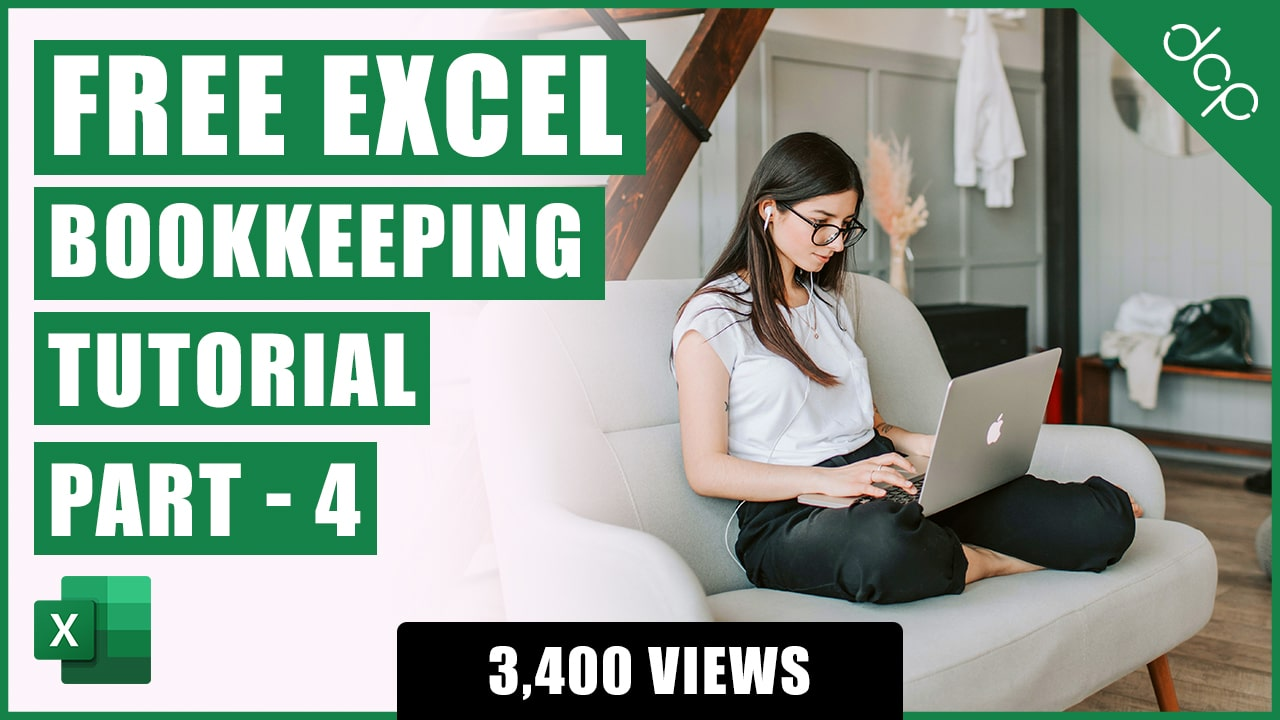 Bookkeeping for Small Business - Excel Tutorial - Part 4 - VAT Calculations