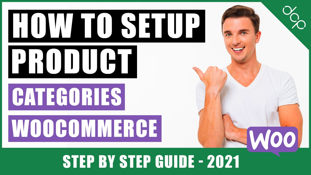 How to add product categories in WooCommerce