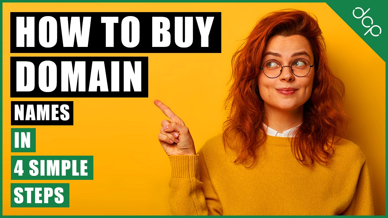 How to buy domain names in 4 simple steps