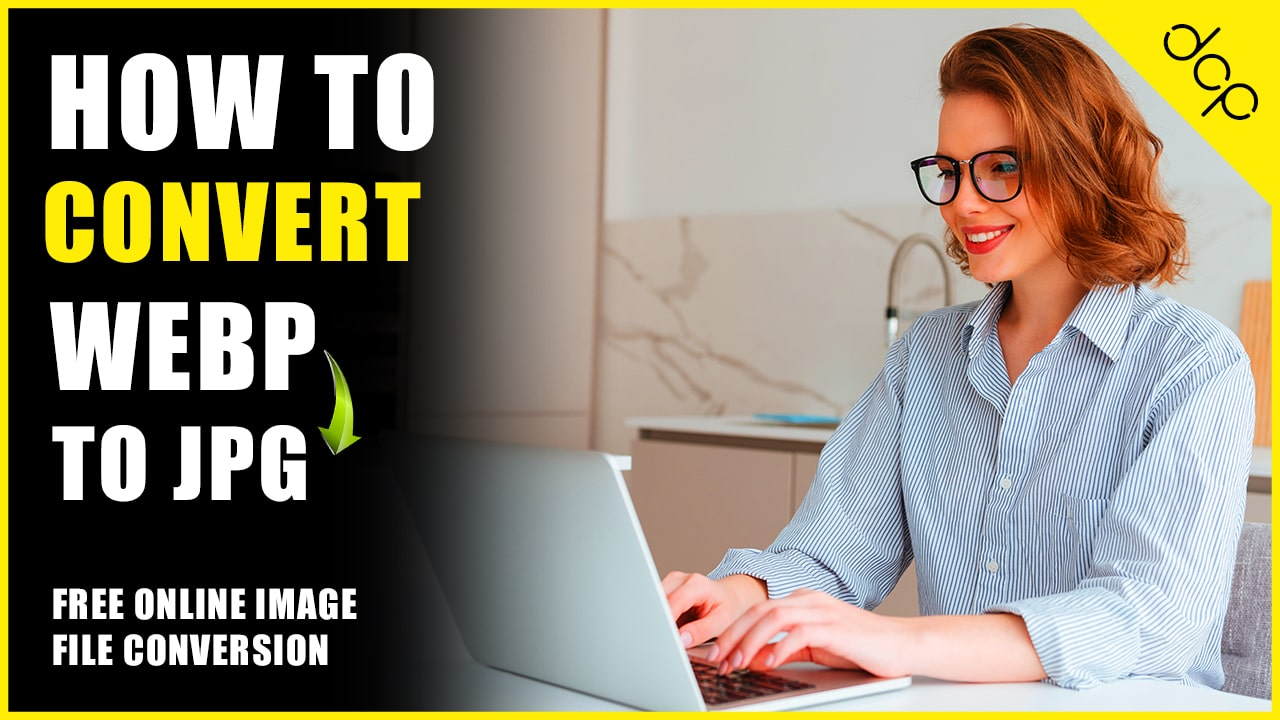 How to convert WebP to JPG image file