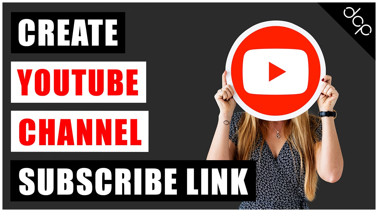 How to create a YouTube Subscribe Link