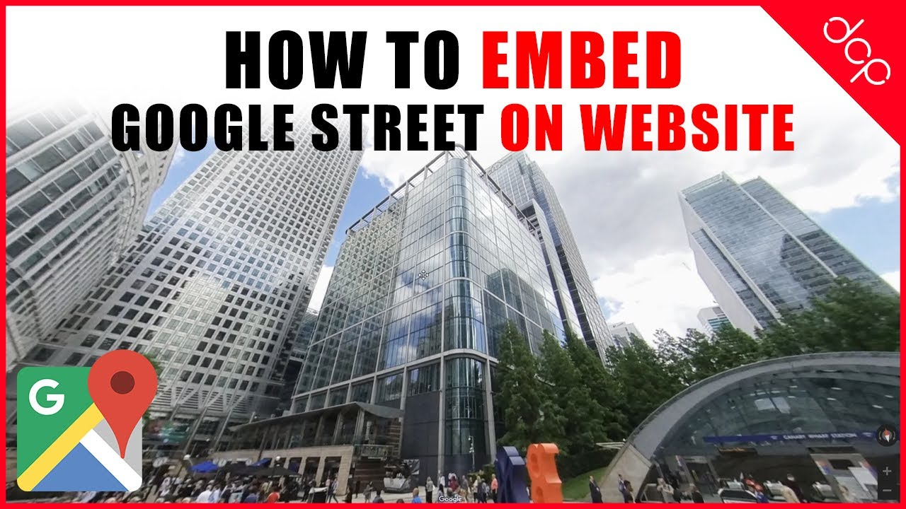 How to embed Google Street View on website