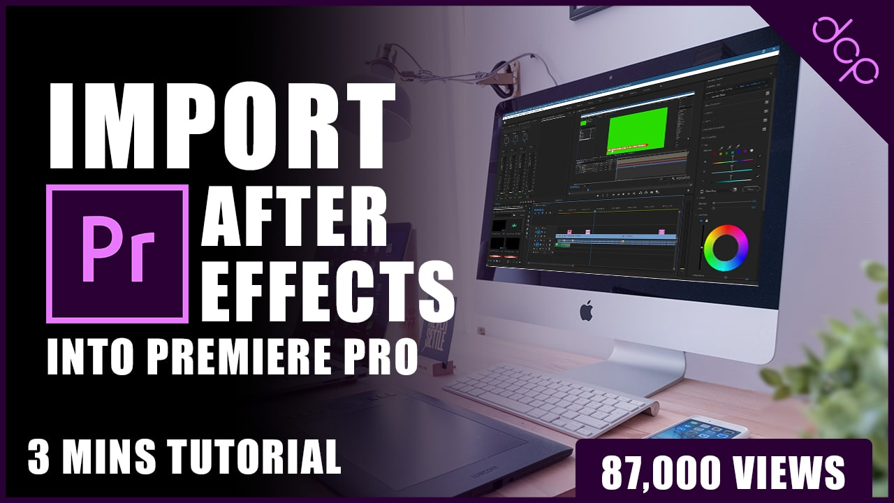 Premiere Pro Import After Effects Composition