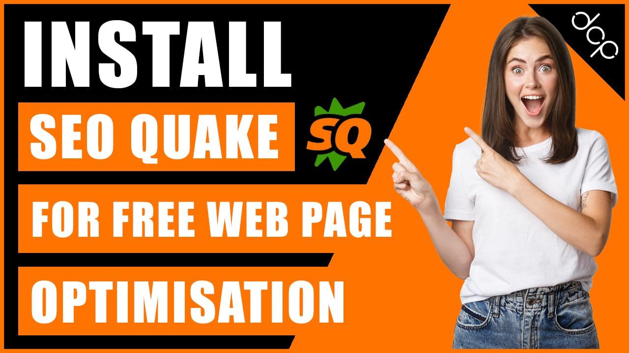 How to install SEO Quake Chrome plugin for website SEO optimisation