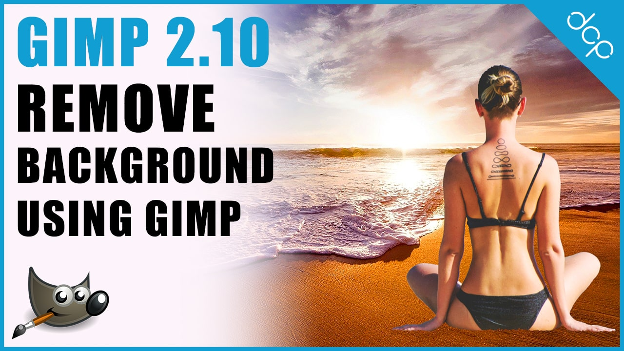 How to remove background from an image using GIMP 2.10