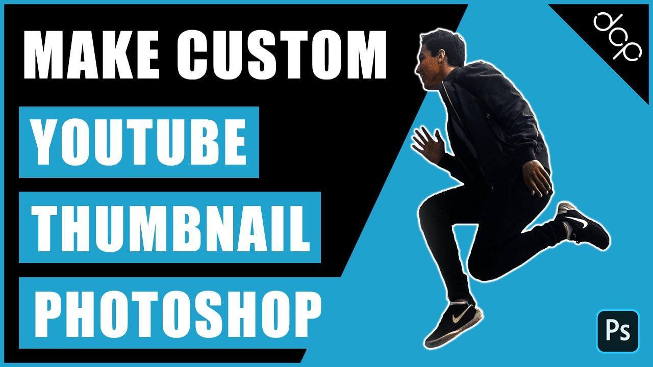 YouTube thumbnail Photoshop tutorial