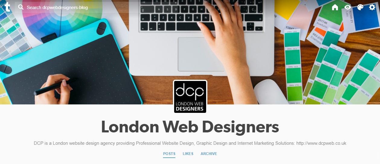 DCP Web Designers Tumblr Profile