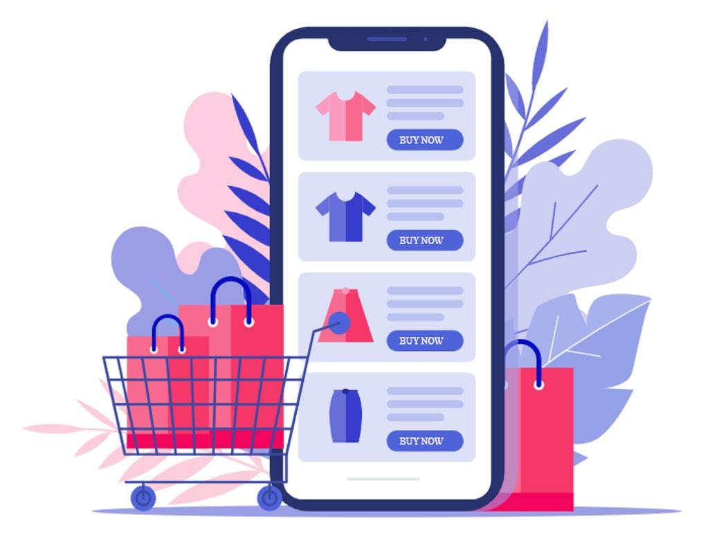 Ecommerce web design image