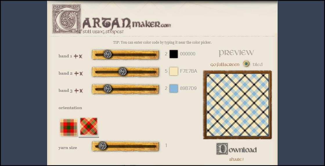 tartan maker