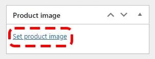 Upload main product image