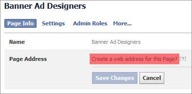 facebook create user name 3