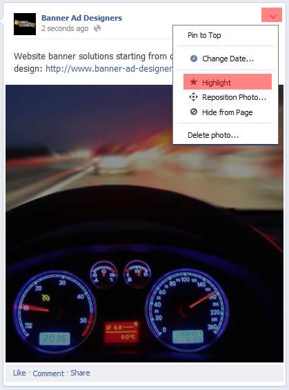 facebook highlight image upload 2