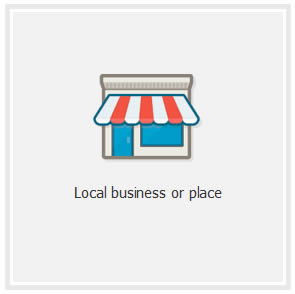 facebook local_business or place option