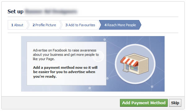 facebook set up reach more poeple