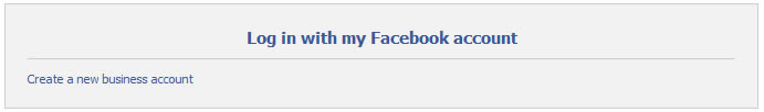 facebook sign up create business account