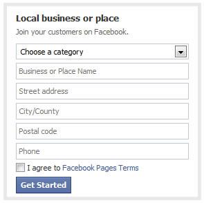 facebook sign up fields