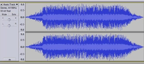 open audio file in audacity