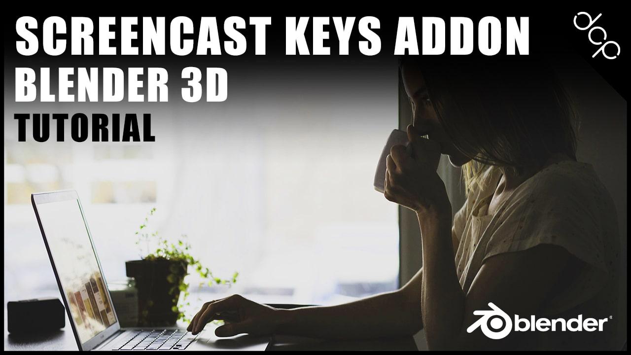 Blender screencast keys tutorial