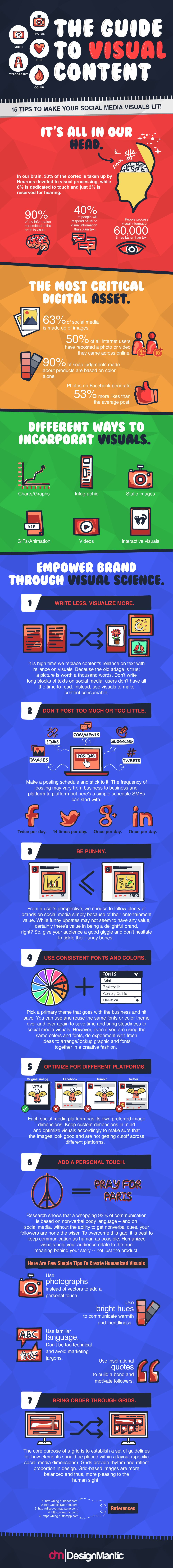 15 top tips to improve your social media visual content