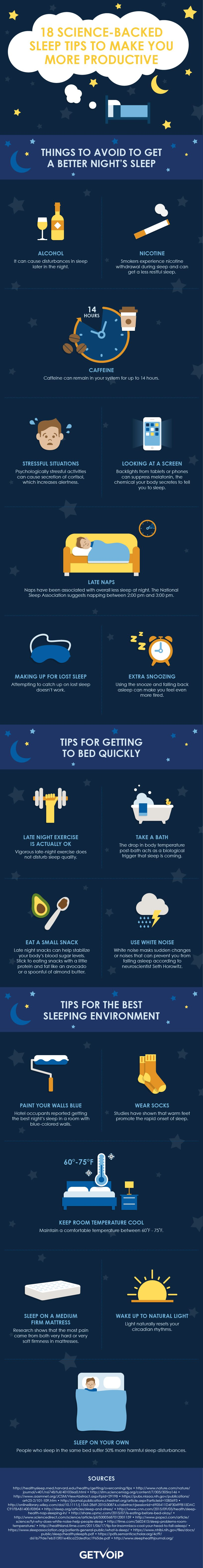 18 tips for entrepreneur to get more sleep!