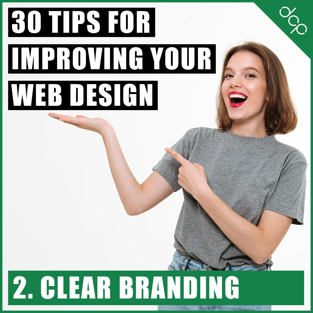 2. Clear branding