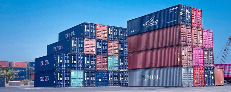 Shipping Containers - Tips for eCommerce global product distribution