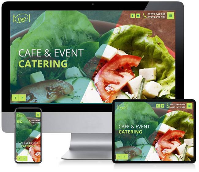 Cafe Bite Business Website Design