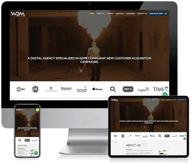 We Breathe Media Corporate Business Web Design