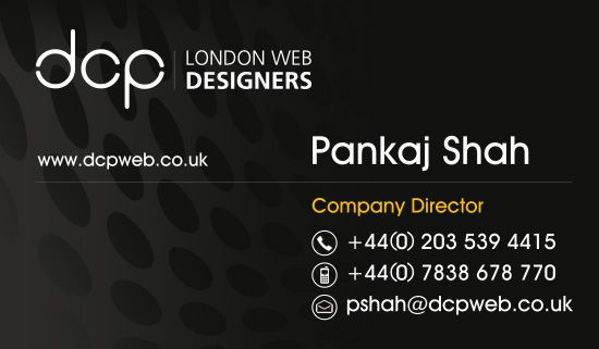 Business Card Design - Example 01