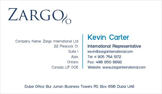 Business Card Design - Example 04
