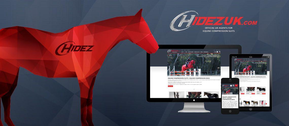 Hidez UK Ecommerce Website Shop