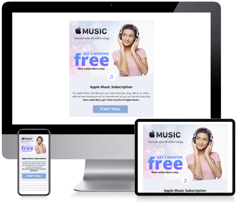 Apple Music - Newsletter Design