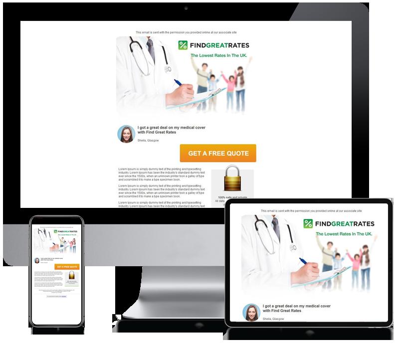 Find Great Rates - Online Marketing Newsletter Design