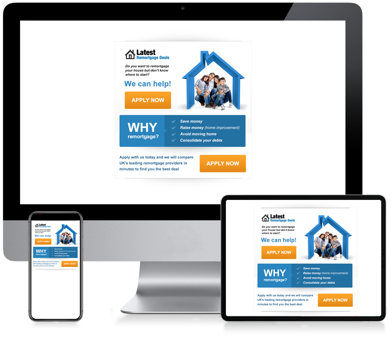 Latest Remortgage Deals - Lead Generation Newsletter Design