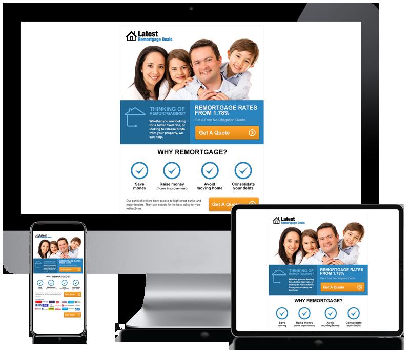 Latest Remortgage Deals - Email Newsletter Design