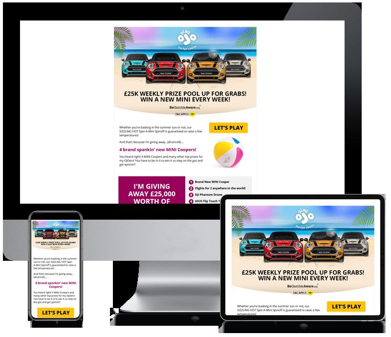 Play Ojo - Newsletter Design