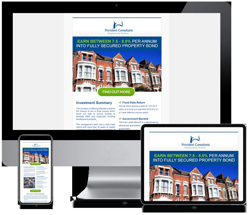 Provident Bond - Newsletter Design