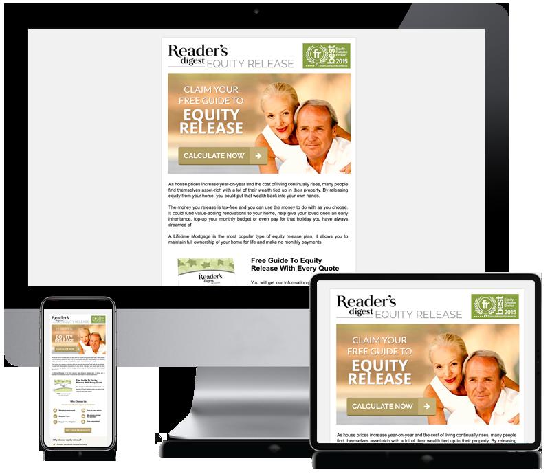 Inspire Digital - Readers Digest - Newsletter Design