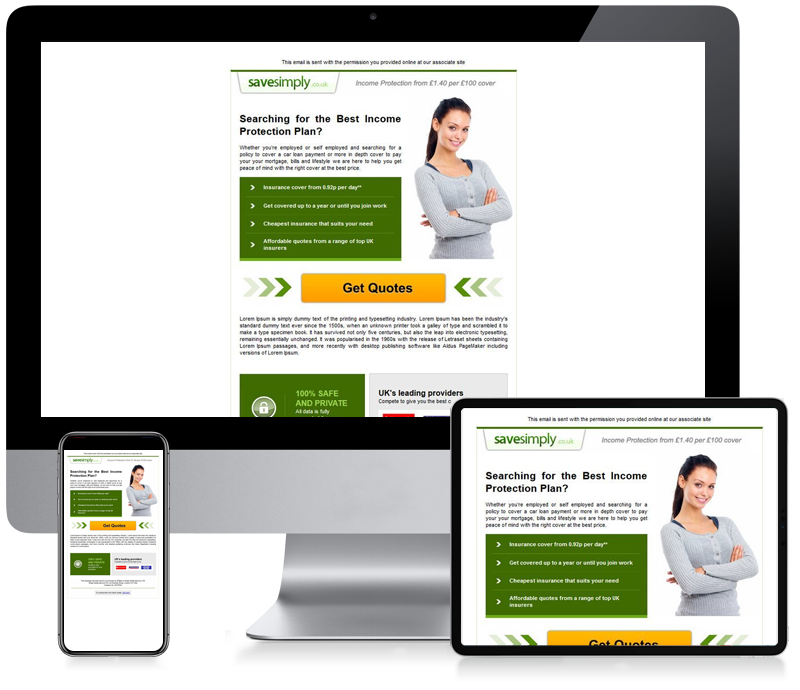 Save Simply - Email Marketing Newsletter Design