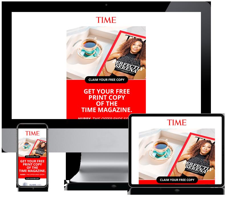 Time Magazine Europe - Newsletter Design