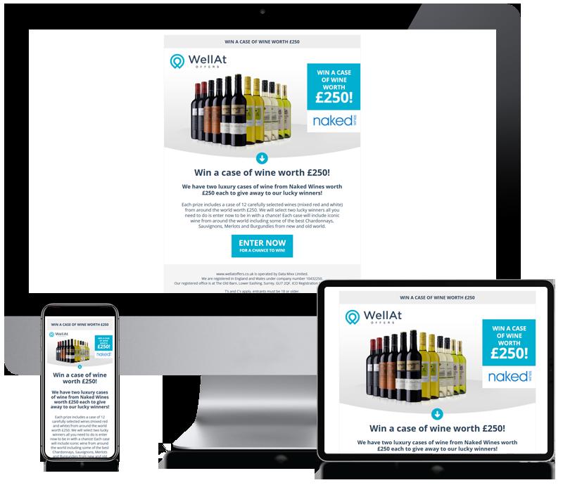 WellAt - Newsletter Template Design