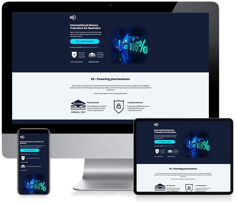 XE - Business Money Transfer Email Design