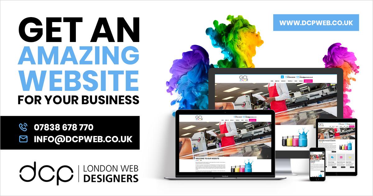 Web Designers In London Web Design Agency London Dcp Web