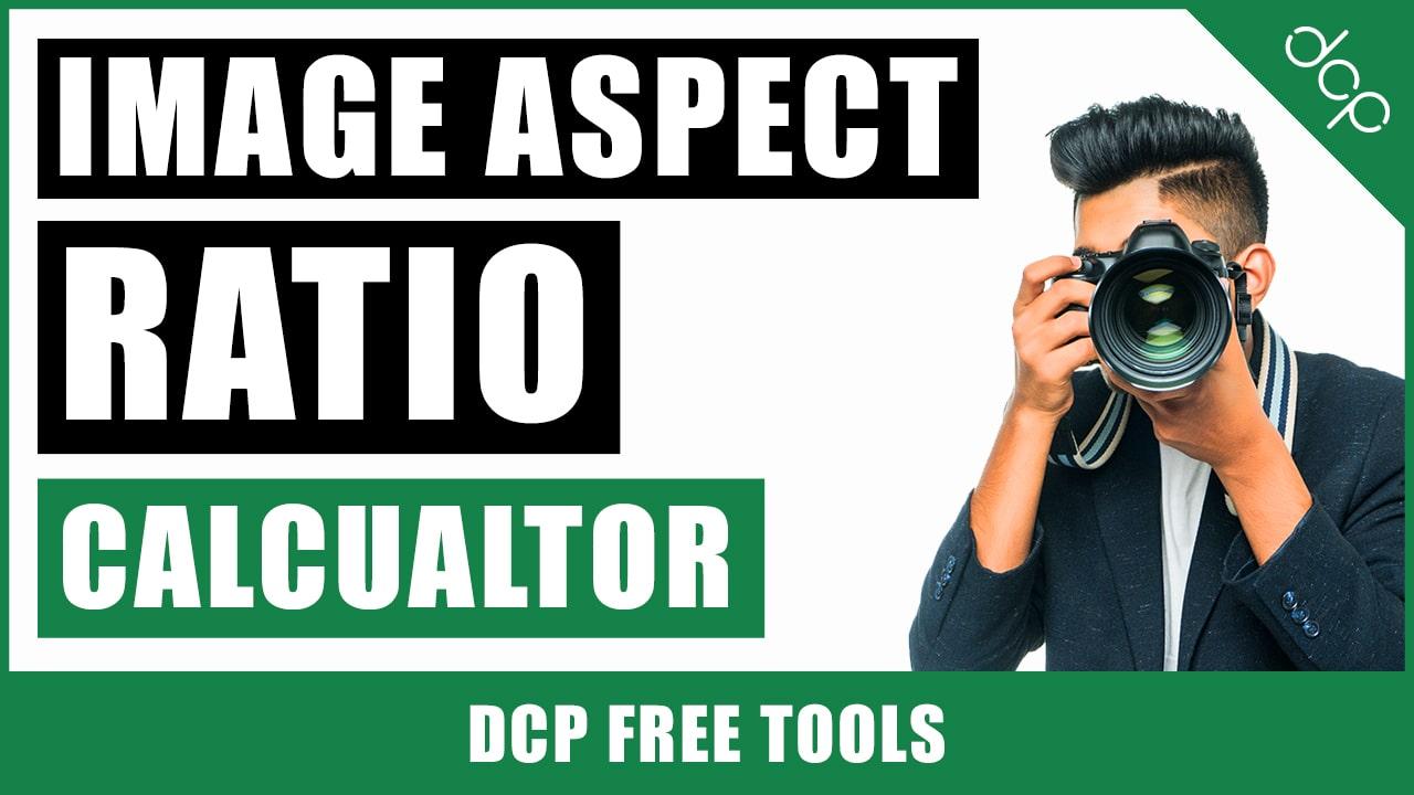 Image Aspect Ratio Calculator